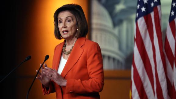 U.S. Speaker of the House Nancy Pelosi delivers remarks at a press conference at the U.S. Capitol on October 31, 2019 in Washington, DC.