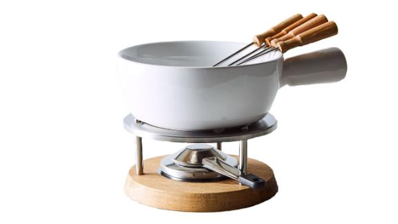 Ceramic Fondue Set ($89; food52.com): With so many retro products back in vogue (Polaroid cameras, analog record players, anything and everything Lisa Frank), it