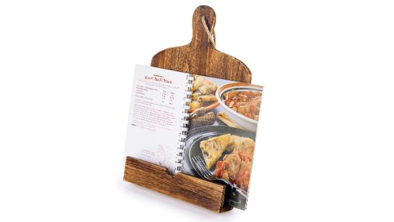 Cookbook and iPad Stand ($25.50; amazon.com): For your friends and family, cookbooks are meant to stay in prime condition. After all, the best of them will be passed down. Help them stow their favorite recipes in a safe place while they meal prep with this handy stand.