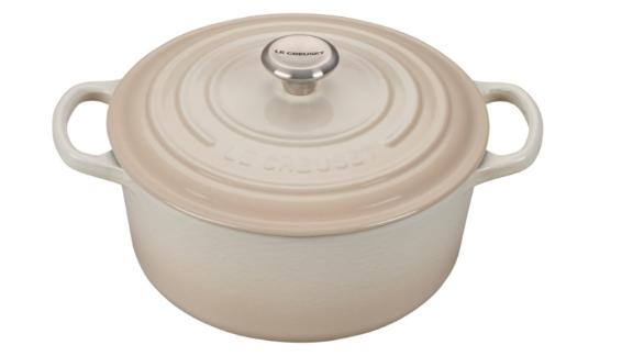 Le Creuset Round Dutch Oven (Starting at $150; lecreuset.com): With a lifetime warranty and unparalleled design, Le Creuset is considered by many chefs, professional and amateur alike, the Rolls Royce of Dutch ovens.