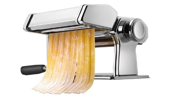 Isiler Pasta Maker ($37.95; amazon.com): Fresh pasta is just as much fun to make as it is to eat. Let your foodie friends and family members whip up fettuccine, spaghetti, lasagna and more at home with this affordable pasta maker.