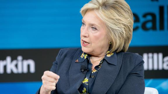 Image for Hillary Clinton clarifies that she will support the Democratic nominee -- even if it's Bernie Sanders