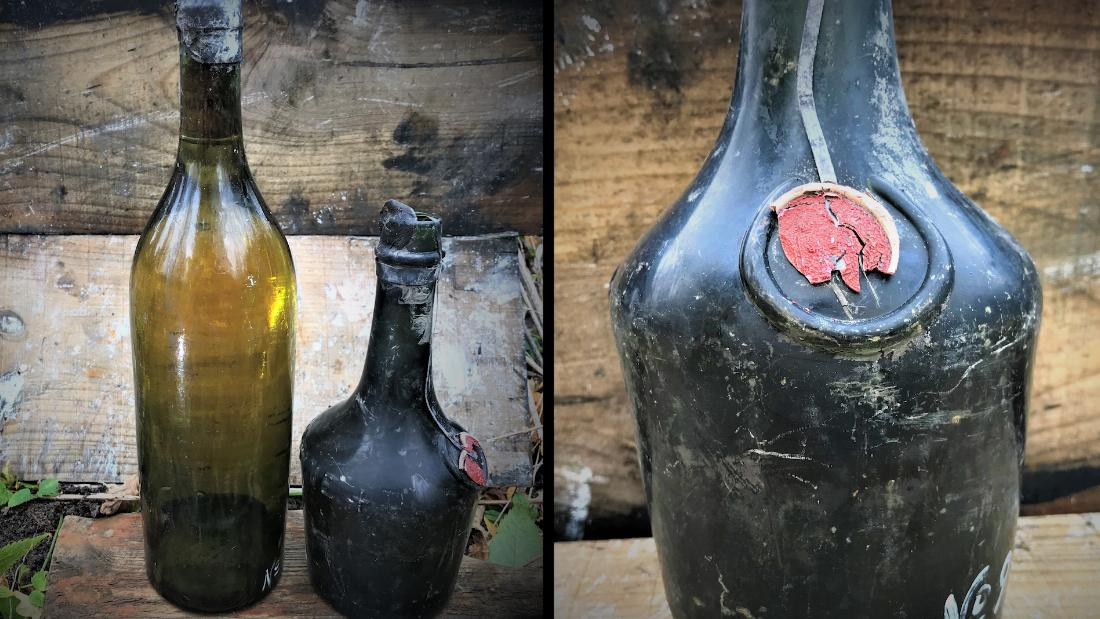 Divers salvage 100-year-old liquor from WWI shipwreck