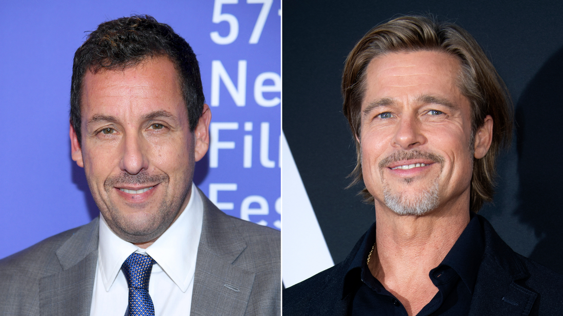 Brad Pitt and Adam Sandler have a lot more in common than you think