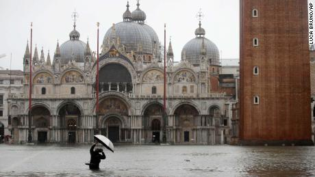 Man dies in Venice's worst floods for 50 years as city calls for state of emergency