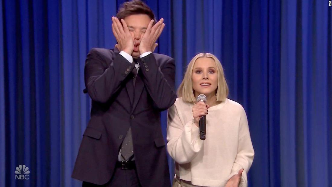Watch Kristen Bell and Jimmy Fallon's epic Disney duet