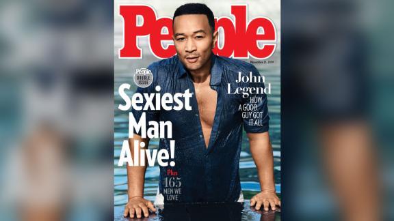 John Legend's 'Sexiest Man Alive' cover