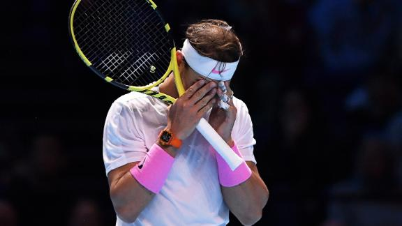 Rafael Nadal trailed 5-1 in a third set to Daniil Medvedev at the ATP Finals...but he did turn it around.