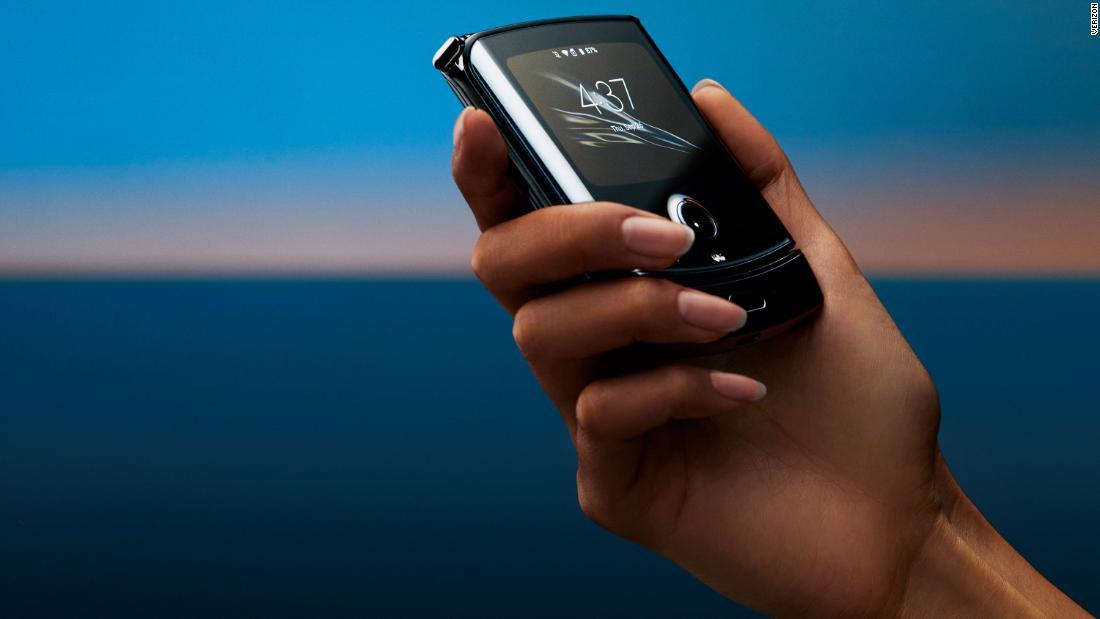 The $1500 Motorola Razr will hit stores in North America on February 6 - CNN