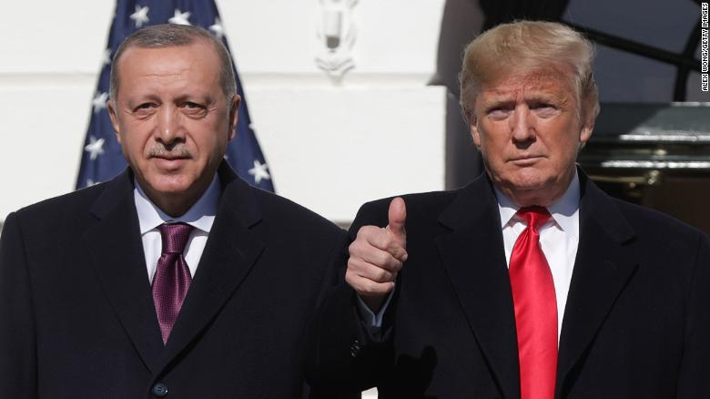 Trump moves to sanction Turkey over Russian missile defense system under pressure from Congress