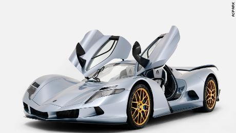 Fastest production car 2019
