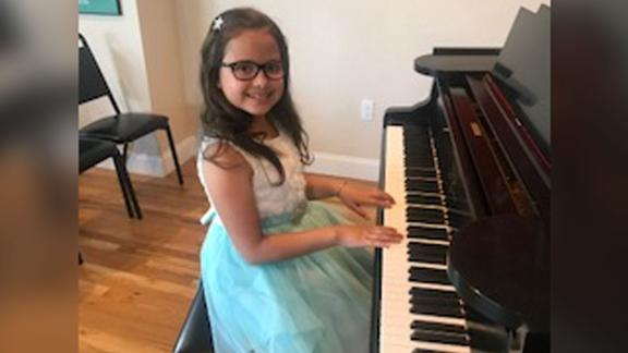 Abigail Moen says she wants to be a surgeon when she grows up.
