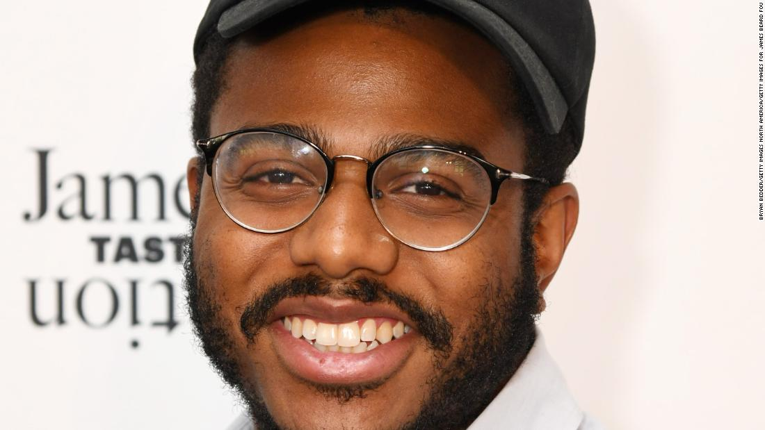 Kwame Onwuachi is an American-Nigerian chef whose Washington D.C. restaurant has gained a lot of buzz and his memoir 'Notes from a Young Black Chef' is set to be made into a film next year.