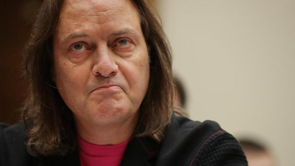 John Legere, T-Mobile's CEO, will step down in April