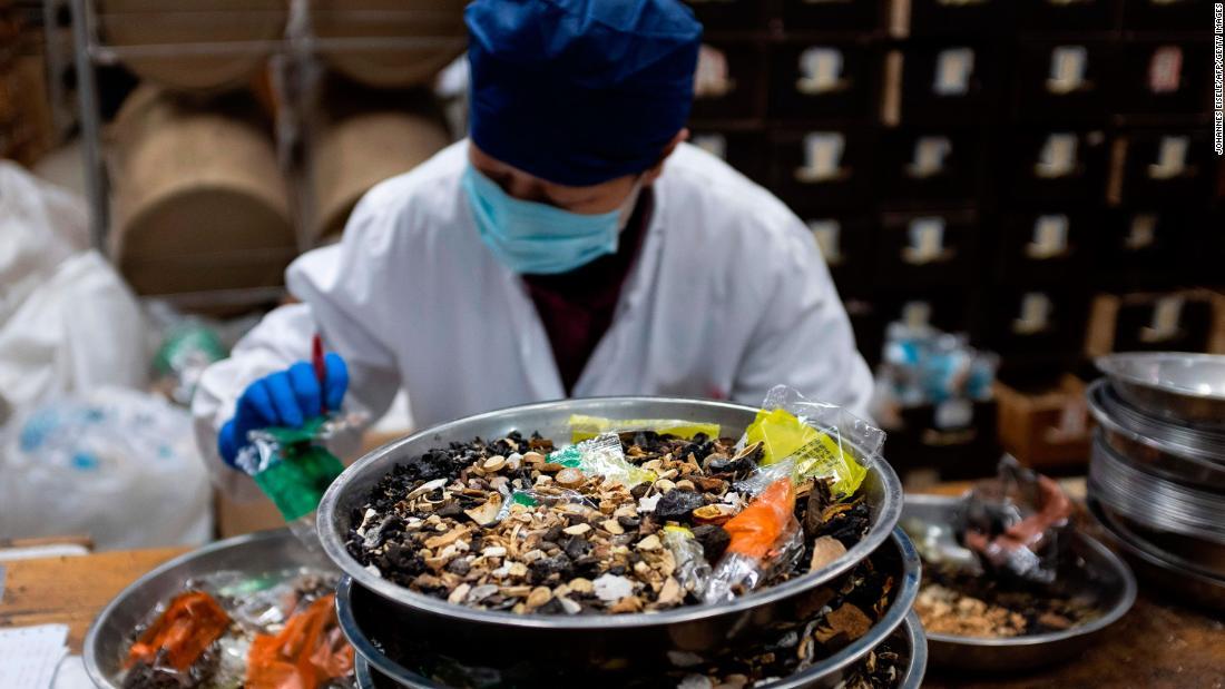 Το πεκίνο είναι η προώθηση της παραδοσιακής ιατρικής ως