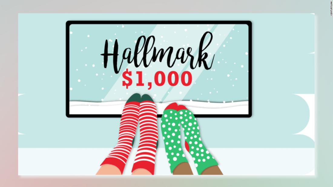 Sie können bezahlt, um binge Markenzeichen Weihnachten Filme