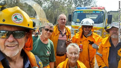 Image result for aussie firefighters bushfire