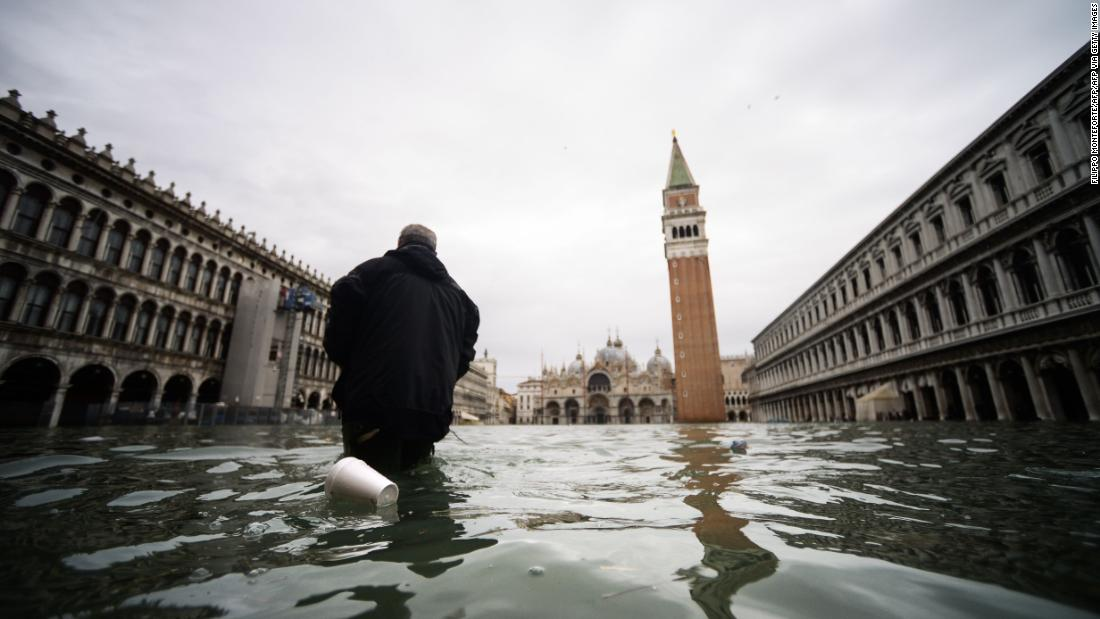Venice is flooding -- what lies ahead for its cultural and historical sites?