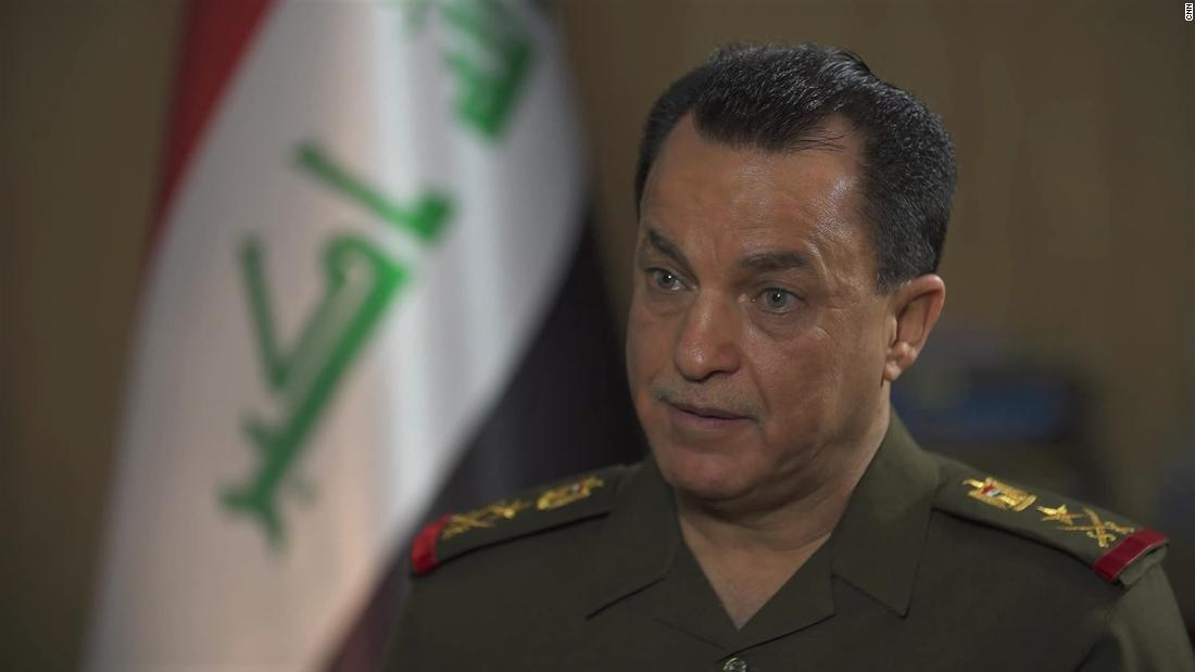 Irakischer Spion-Chef warnt vor ISIS-Neuaufbau