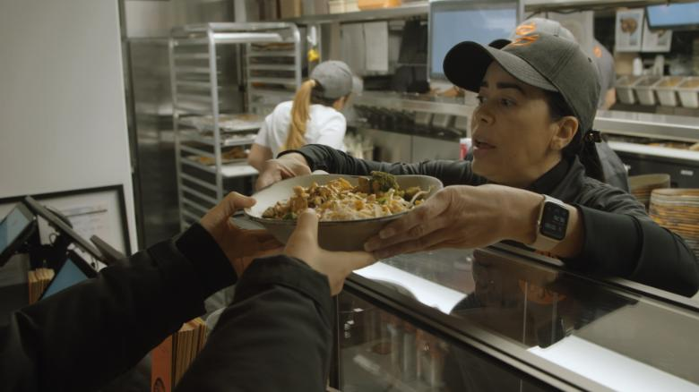 A restaurant called 'Immigrant Food' opened a block from the White House