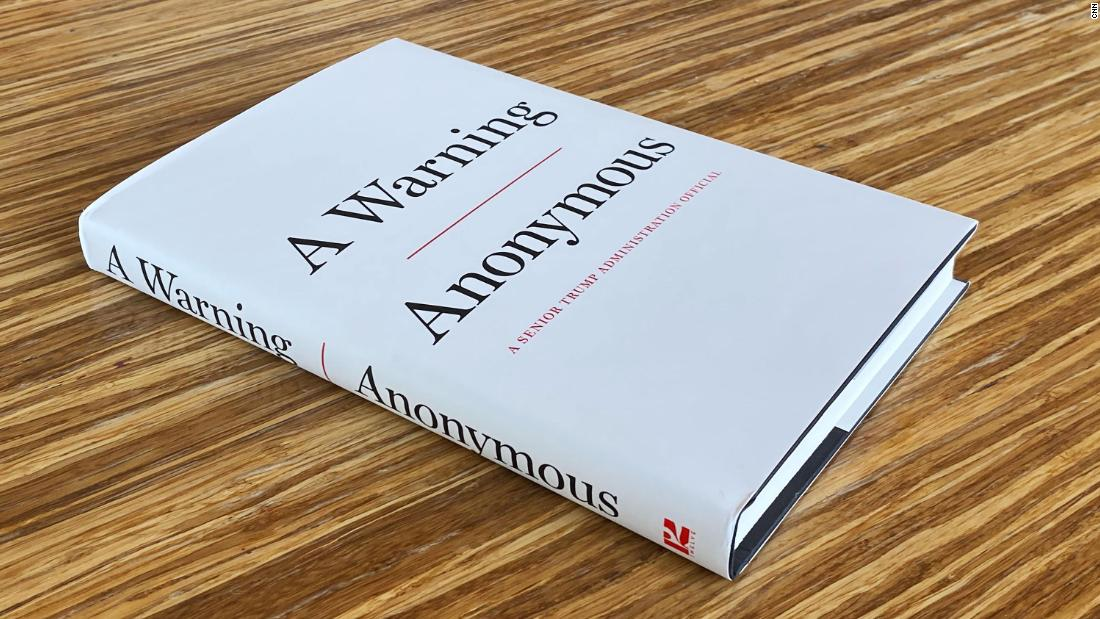 'Anonymous' book offers eye-popping insider details