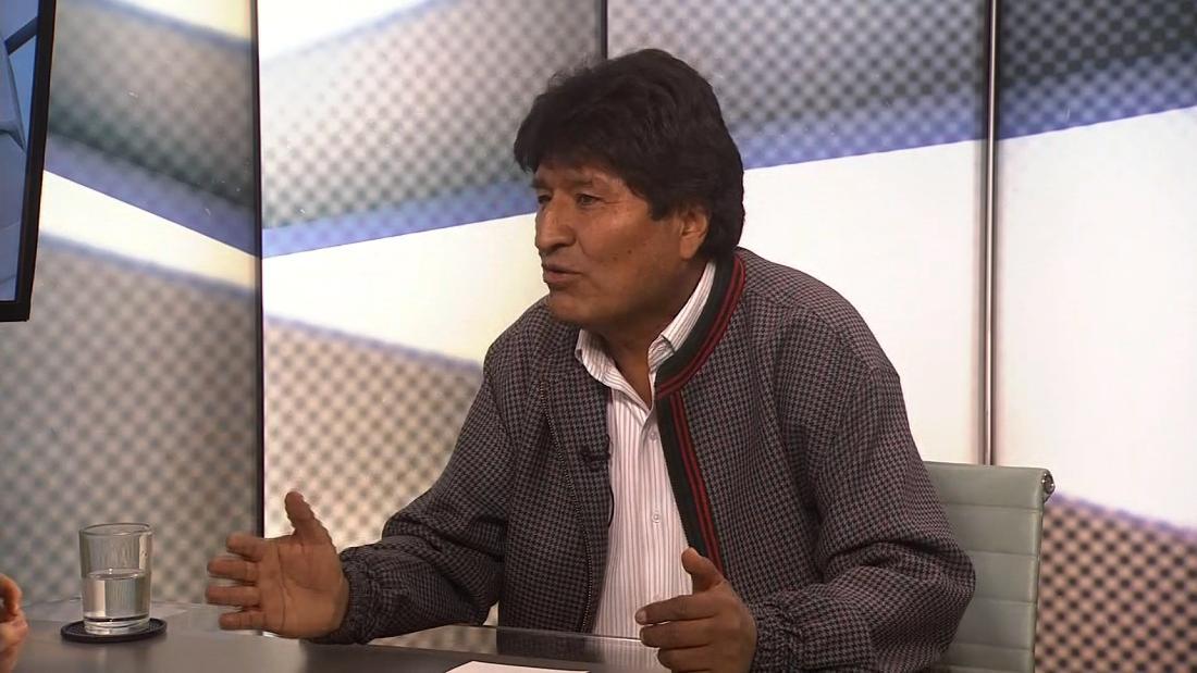 Der ehemalige Bolivianische Präsident Evo Morales sagt, er wird nicht laufen in neuen Wahlen. Aber seinen Rücktritt wurde nicht akzeptiert