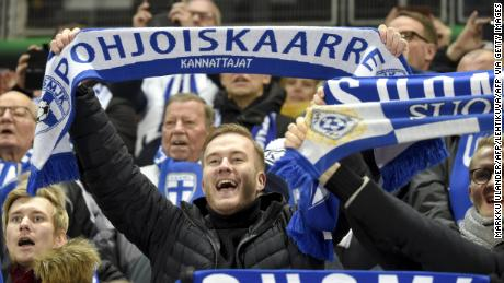 Euro 2020: Joy in Finland as men's team qualifies for a major soccer tournament for the first time