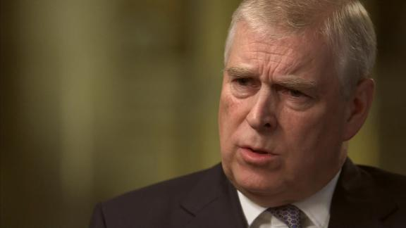 Prince Andrew appeared on the BBC