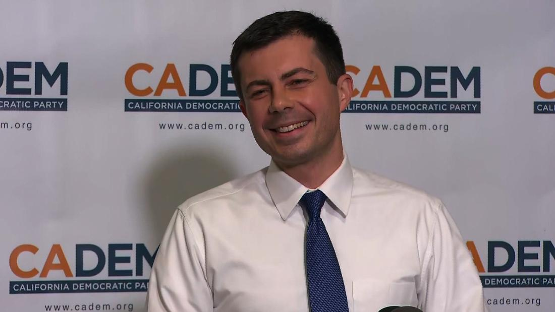 Pete Buttigieg surges to first place in Iowa, new poll shows