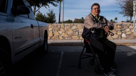 Arnulfo Rascon injured his knee as he tried to escape gunfire during the August 3 mass shooting in El Paso.
