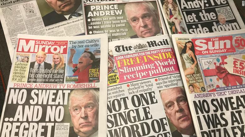 Prince Andrew interview sparks near-universal condemnation