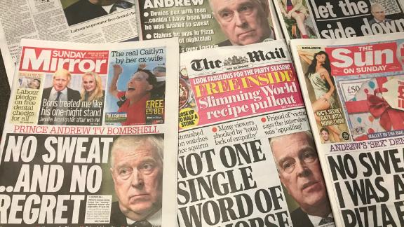 Sunday's newspapers would have made for grim reading for the royal family.