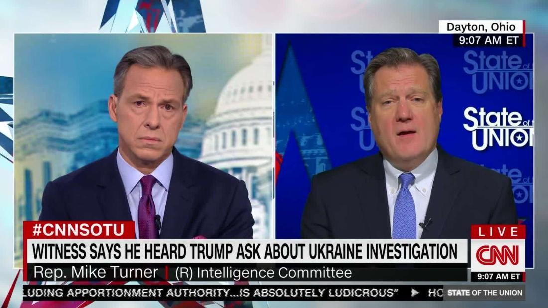 Turner: 'Alarming' that Trump direct reports pushed Ukraine