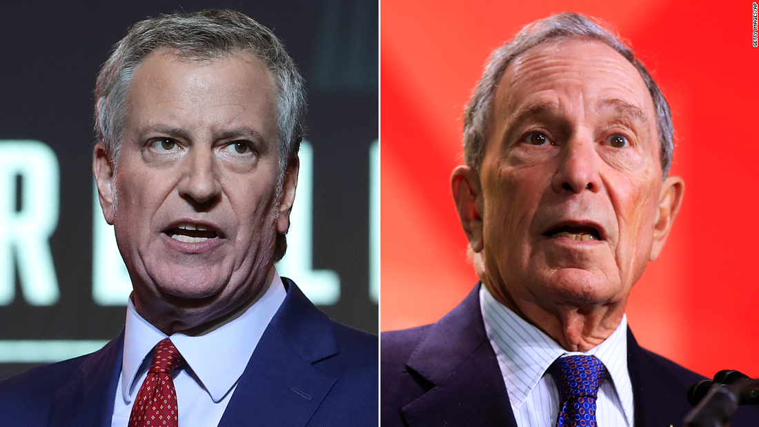 De Blasio decries Bloomberg for 'death bed conversion' on 'stop and frisk,' casting it as political expediency