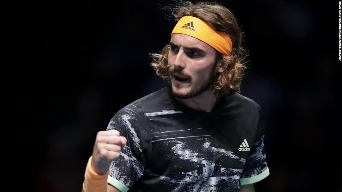 Tsitsipas becomes youngest to win ATP FInals in debut since 1978