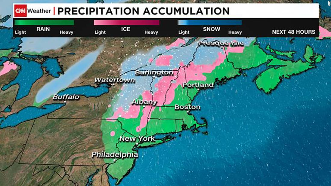Winter weather advisories issued for 9 states