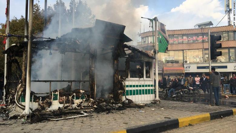 Image result for iran riots