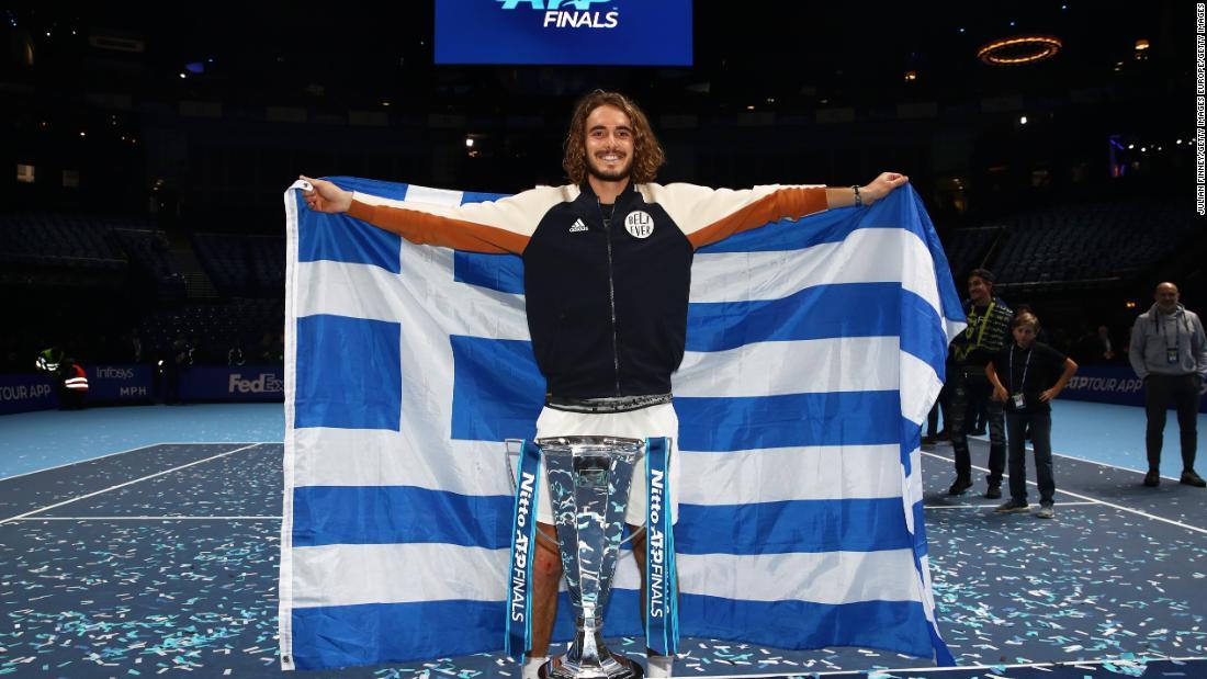 Stefanos Tsitsipas Hoping To End Big Three Stranglehold Next Year Cnn