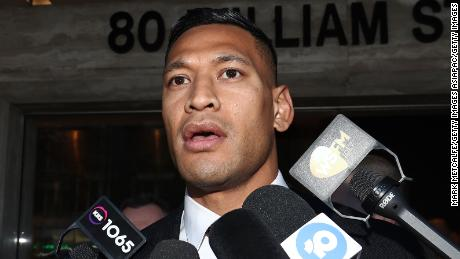 Israel Folau has connected the bushfires tormenting Australia to the country's same-sex and abortion laws.