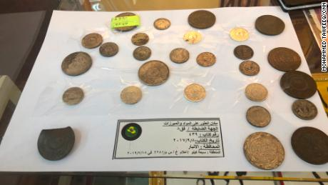 ISIS minted its own coins for use in its territory.