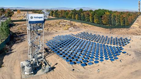 Heliogen, backed by Bill Gates, has achieved a breakthrough that could allow cement makers to transition away from fossil fuels. The company uses artifical intelligence and an array of mirrors to create vast amounts of heat, essentially harnessing the power of the sun.