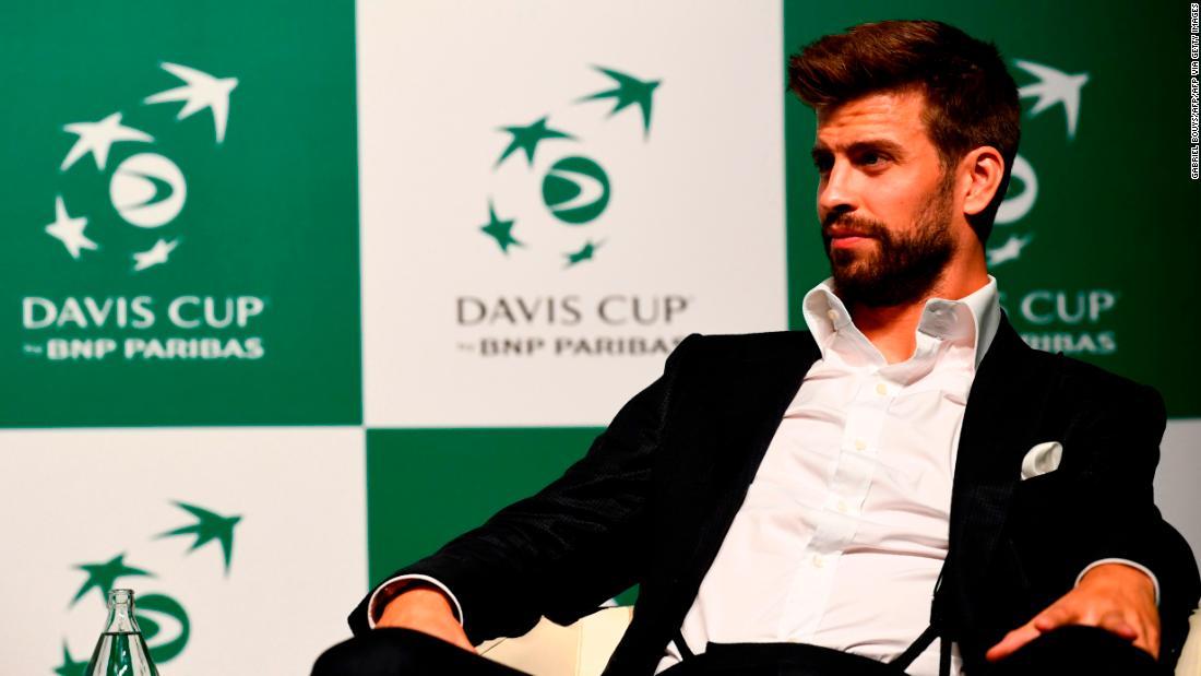 Gerard Pique hy vọng sẽ tránh được mục tiêu của riêng mình trong cuộc cải tổ Davis Cup trị giá 3 tỷ đô la