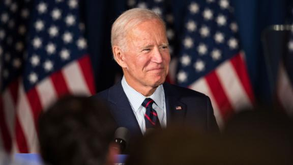 ROCHESTER, NH - OCTOBER 09:  Democratic presidential candidate, former Vice President Joe Biden attends a campaign event on October 9, 2019 in Rochester, New Hampshire. For the first time, Biden has publicly called for President Trump to be impeached. (Photo by Scott Eisen/Getty Images)