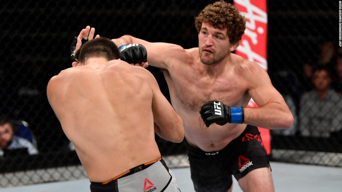 Ben Askren announces he's retiring from MMA