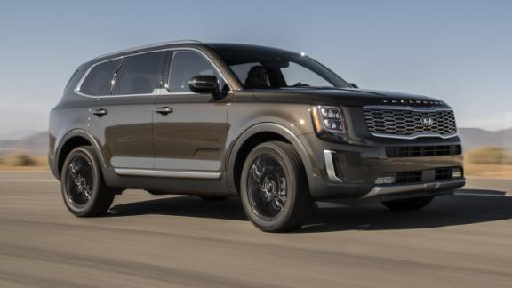 The Kia Telluride stands up well against more expensive luxury SUVs, MotorTrend said.