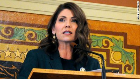 Gov. Kristi Noem of South Dakota.