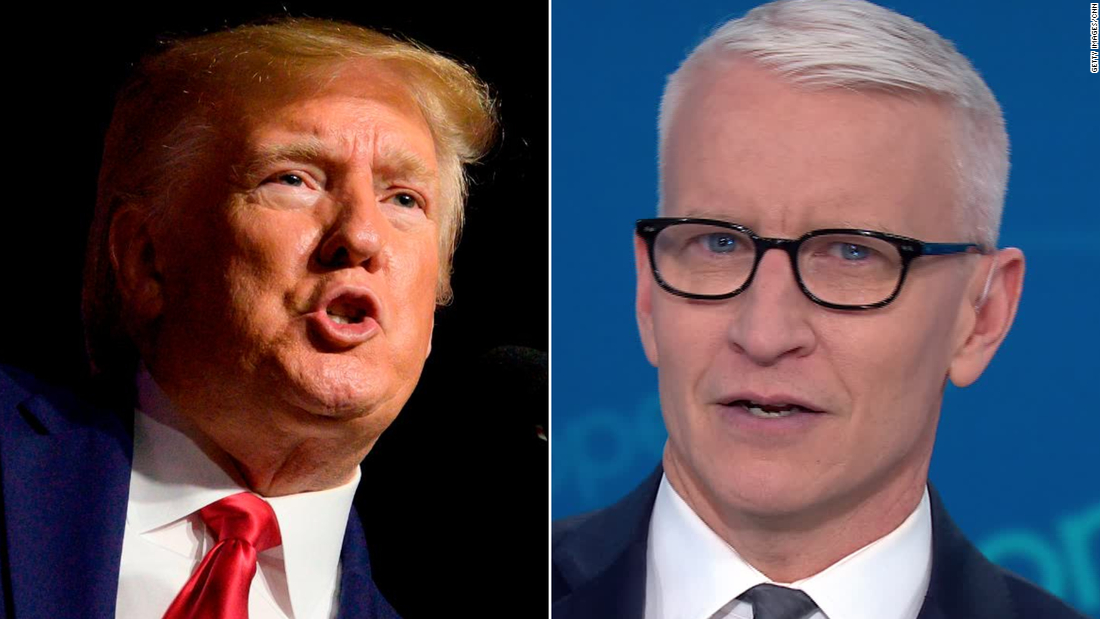 Anderson Cooper: Trump must think we're all idiots - CNN