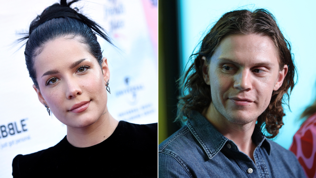 Halsey and boyfriend Evan Peters are not expecting.