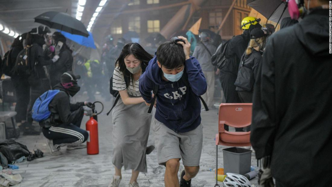 Hong Kong campus siege almost over, but the violence and anger is here to stay