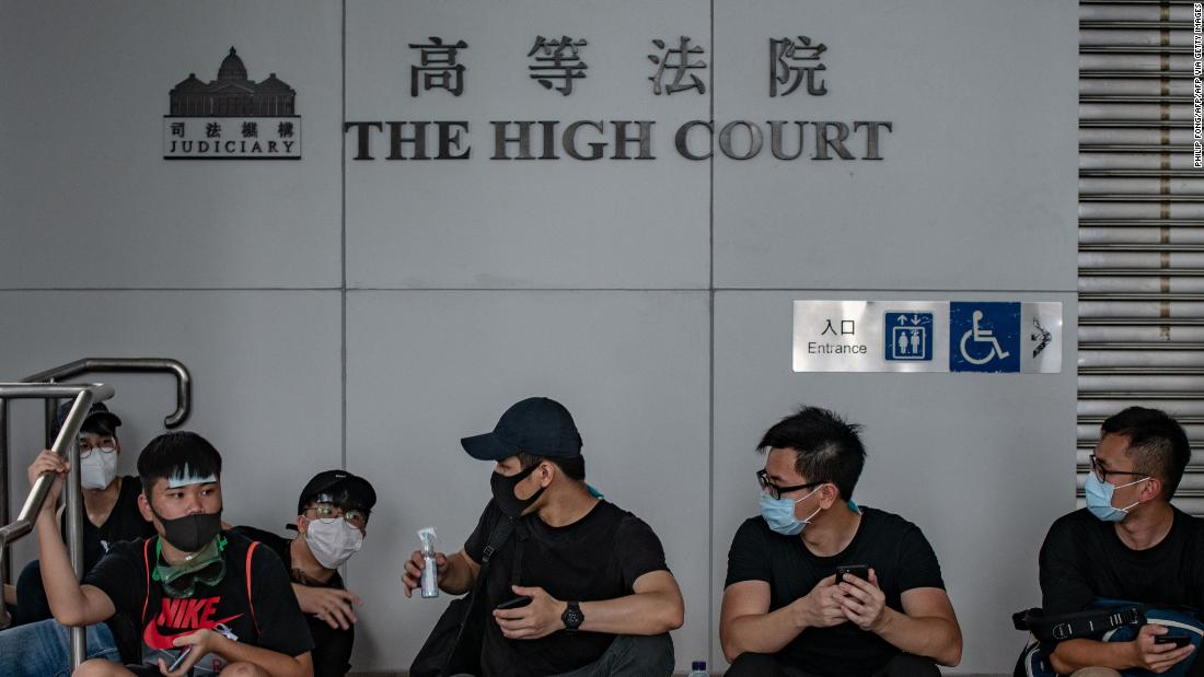 China just hinted it may upend Hong Kong's legal system over the mask ban